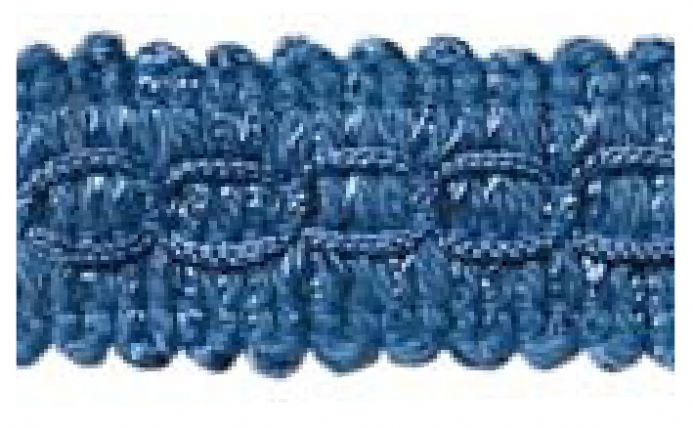 Gimp (Braided trim) 22mm  -  Blue M45- Value Pack 22 mtrs